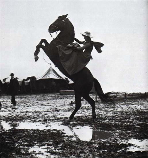 1890, Rome, Italy - Buffalo Bill's Wild West Show - Photographer:Giuseppe  Primoli (1851-1927).